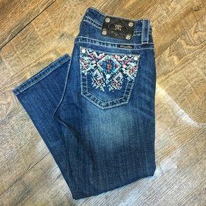 Miss Me jeans size 27 Capri